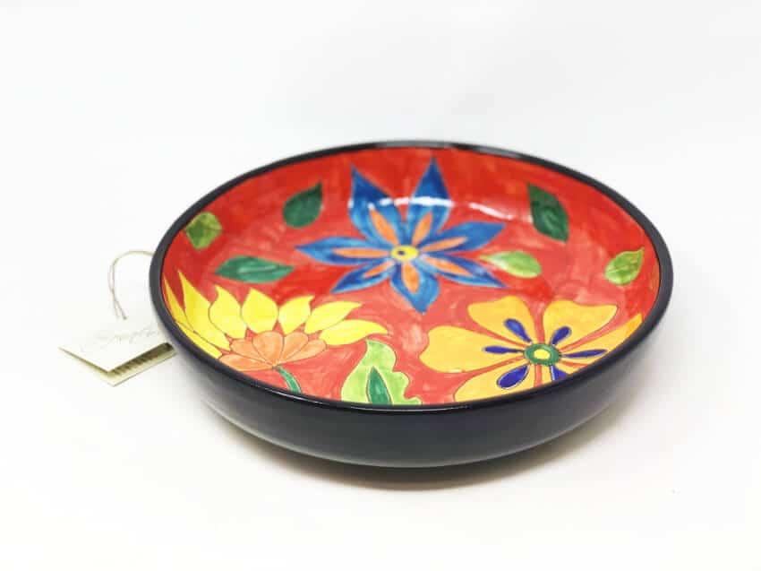 Verano-Spanish-Ceramics-Signature-Flowers-27cm-Large_Bowl-2