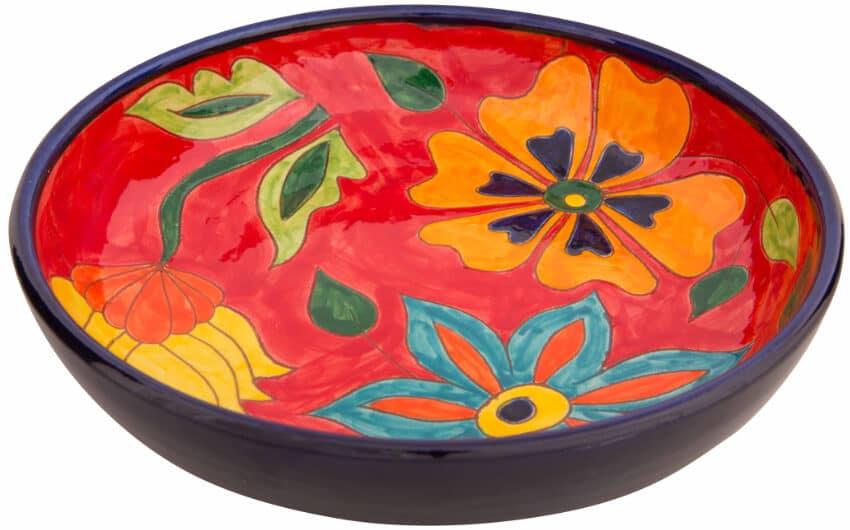 Verano-Spanish-Ceramics-Signature-Flowers-27cm-Large_Bowl-3