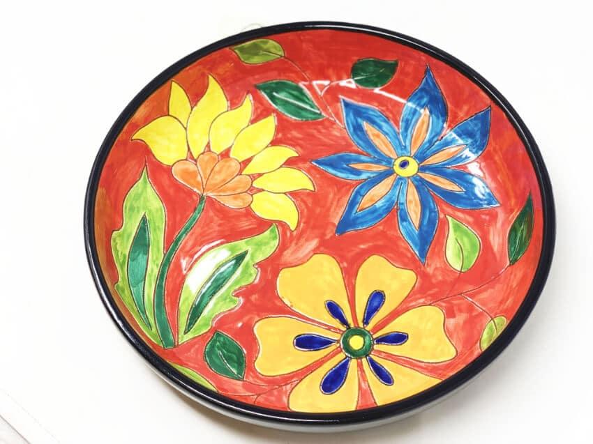Verano-Spanish-Ceramics-Signature-Flowers-27cm-Large_Bowl-4