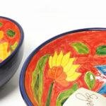Verano-Spanish-Ceramics-Signature-Flowers-Appetiser-Bowls-7
