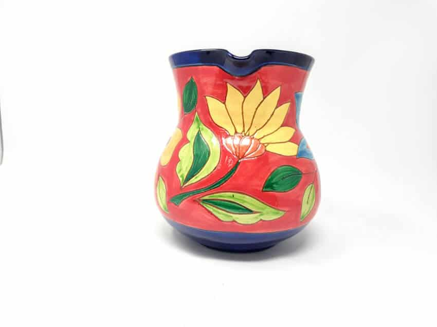 Verano-Spanish-Ceramics-Signature-Flowers-Large-Jug-2