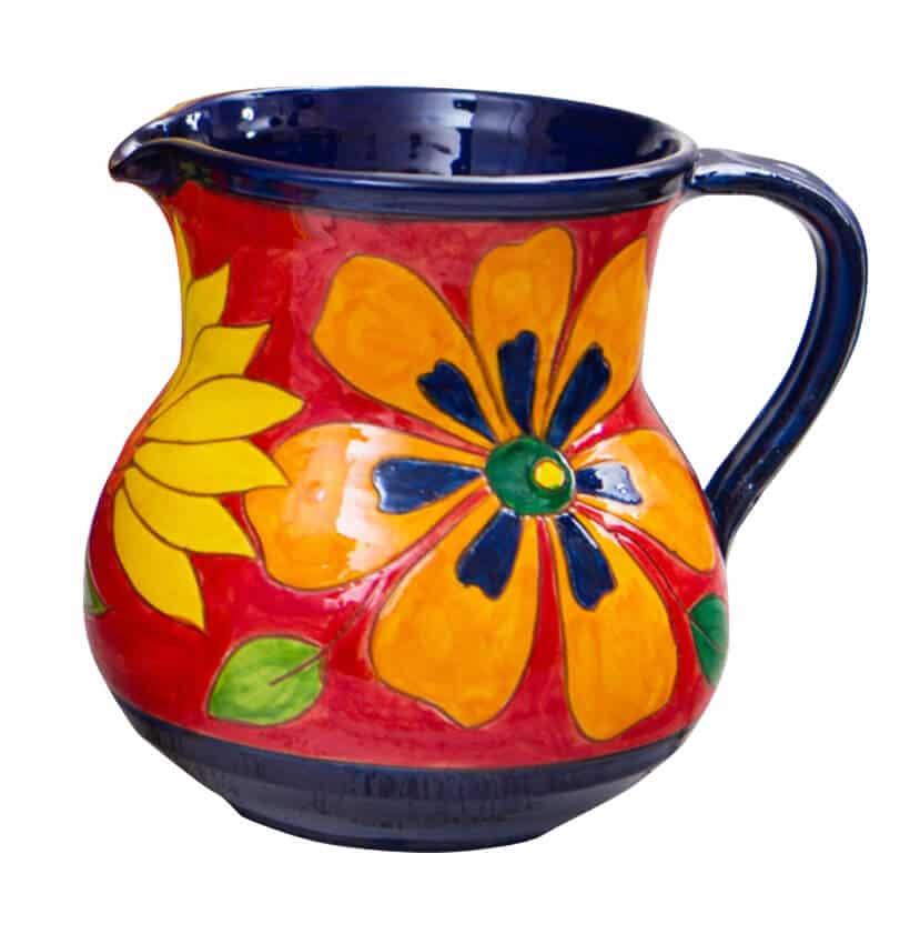 Verano-Spanish-Ceramics-Signature-Flowers-Large-Jug-3