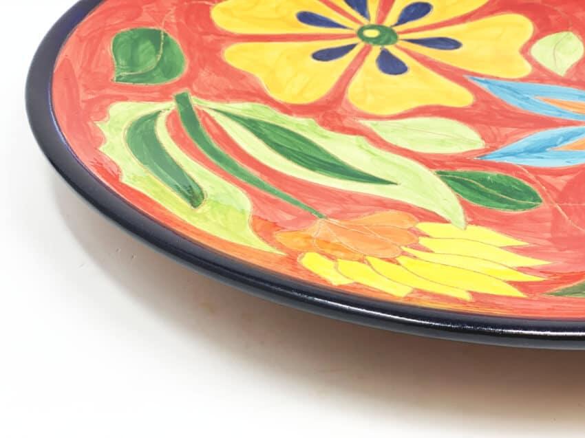 Verano-Spanish-Ceramics-Signature-Flowers-Large-Platter-2
