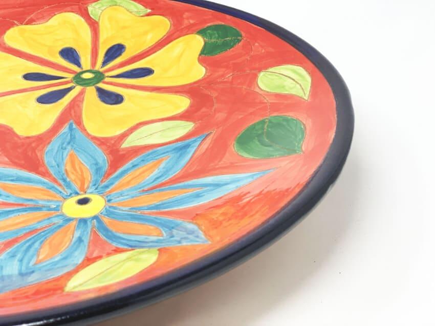 Verano-Spanish-Ceramics-Signature-Flowers-Large-Platter-3