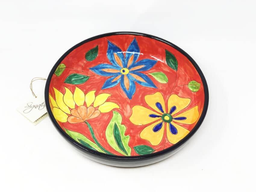 Verano-Spanish-Ceramics-Signature-Flowers-Large-Platter-4