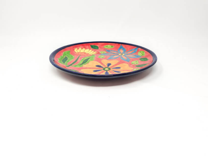 Verano-Spanish-Ceramics-Signature-Flowers-Large-Platter-8