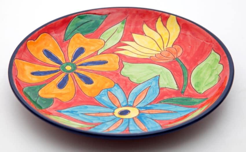 Verano-Spanish-Ceramics-Signature-Flowers-Large-Platter-9