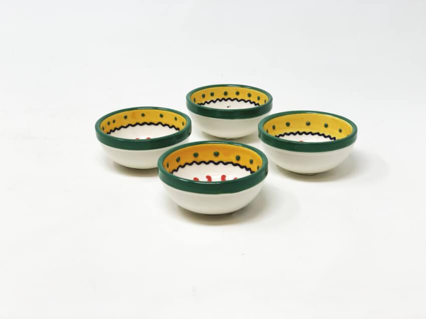 Sombrero - Set Of 4 Tapas Bowls