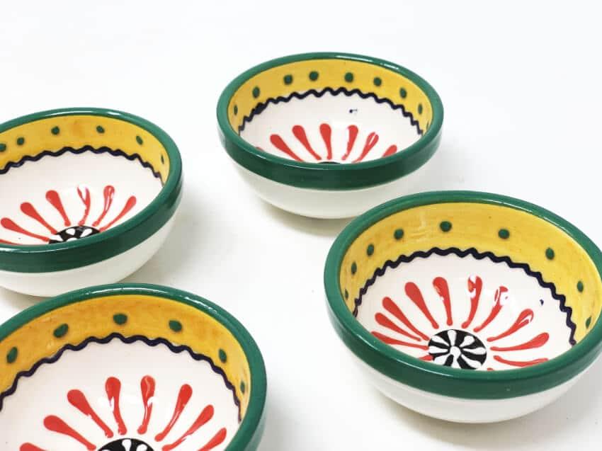 Verano-Spanish-Ceramics-Sombero-Set-of-4-Tapas-Bowls-3