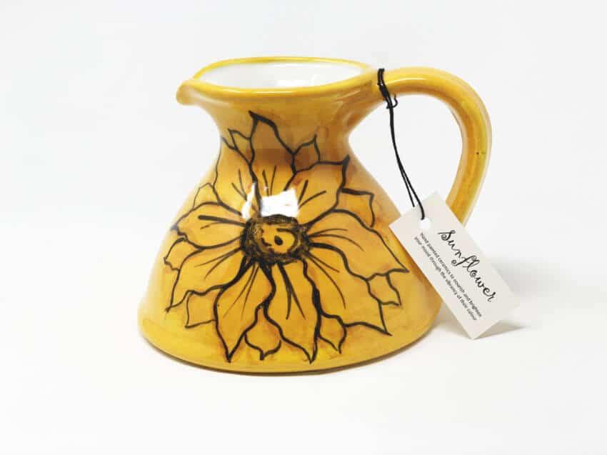 Sunflower - Flat Based Jug