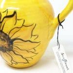 Verano-Spanish-Ceramics-Sunflower-Large-Jug-3