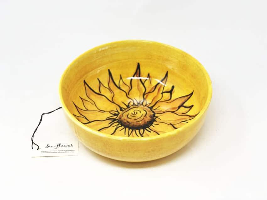 Sunflower - Round Bowl