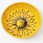 Verano-Spanish-Ceramics-Sunflower-Round-Bowl-5