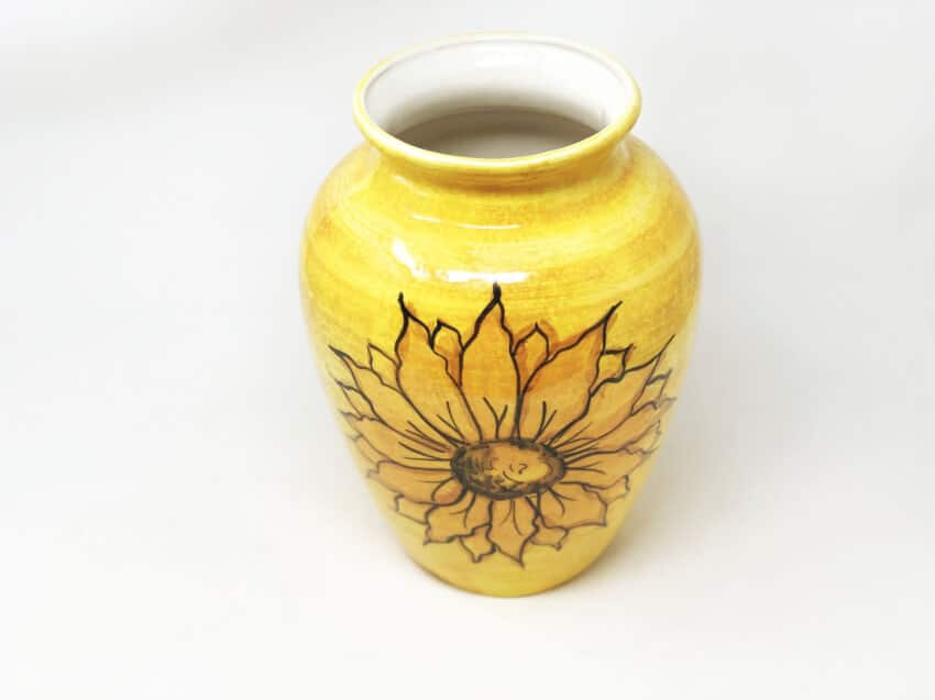 Verano-Spanish-Ceramics-Sunflower-Vase-3