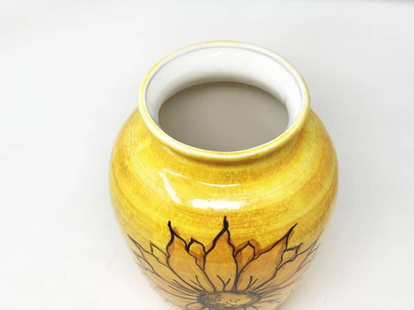 Verano-Spanish-Ceramics-Sunflower-Vase-5