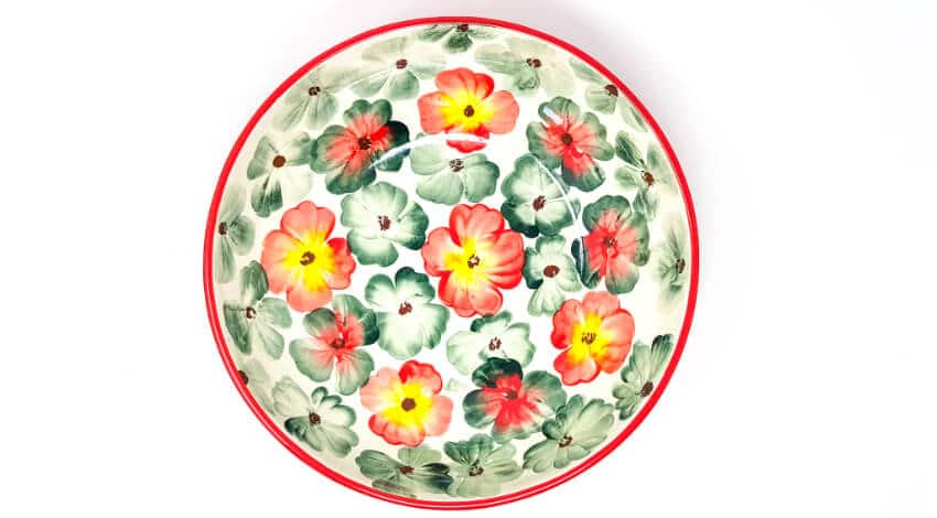 Wild Bloom - Large Curved Bowl