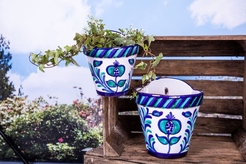 Traditional Spanish - Hand Painted Granada Pots