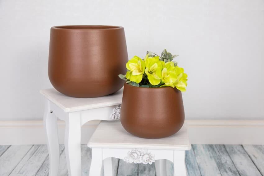 Verano Ceramics Indoor Plant Pots Rust Group 1