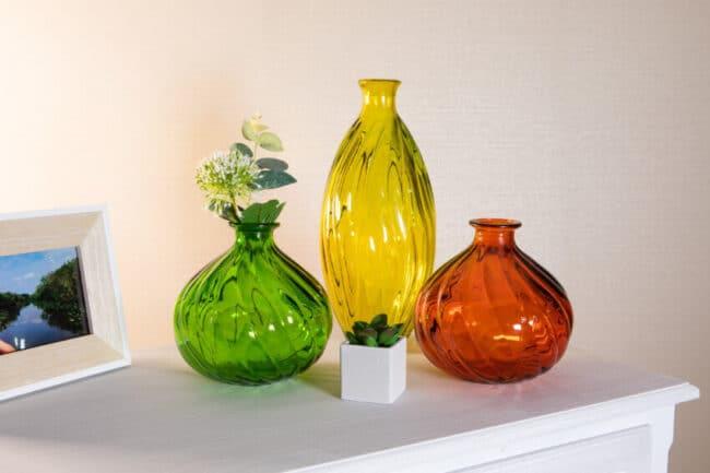 Ola Vases - 100% Recycled Glass
