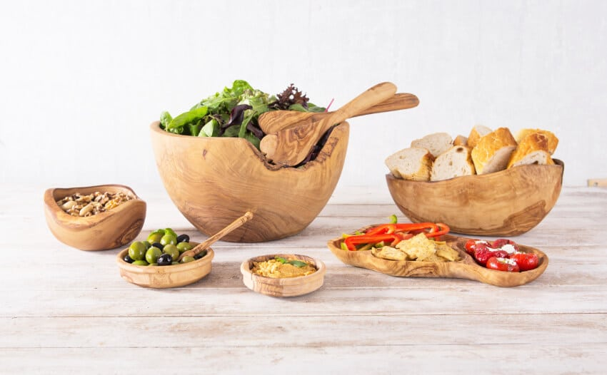 Verano-Ceramics-Olive-Wood-Bowls-Collection-Group-3