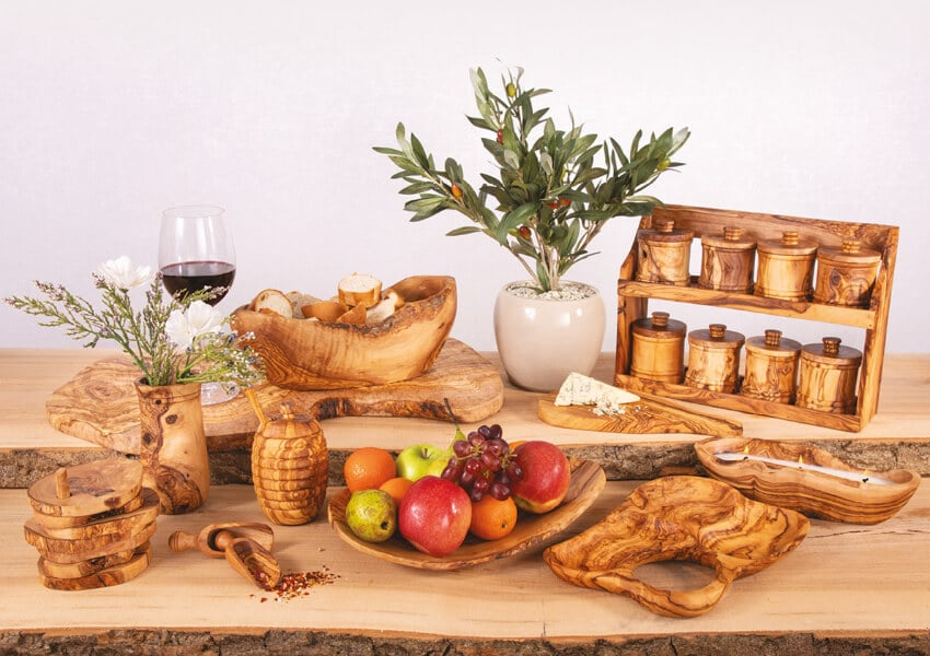 Verano-Ceramics-Olive-Wood-Collection-Group-3