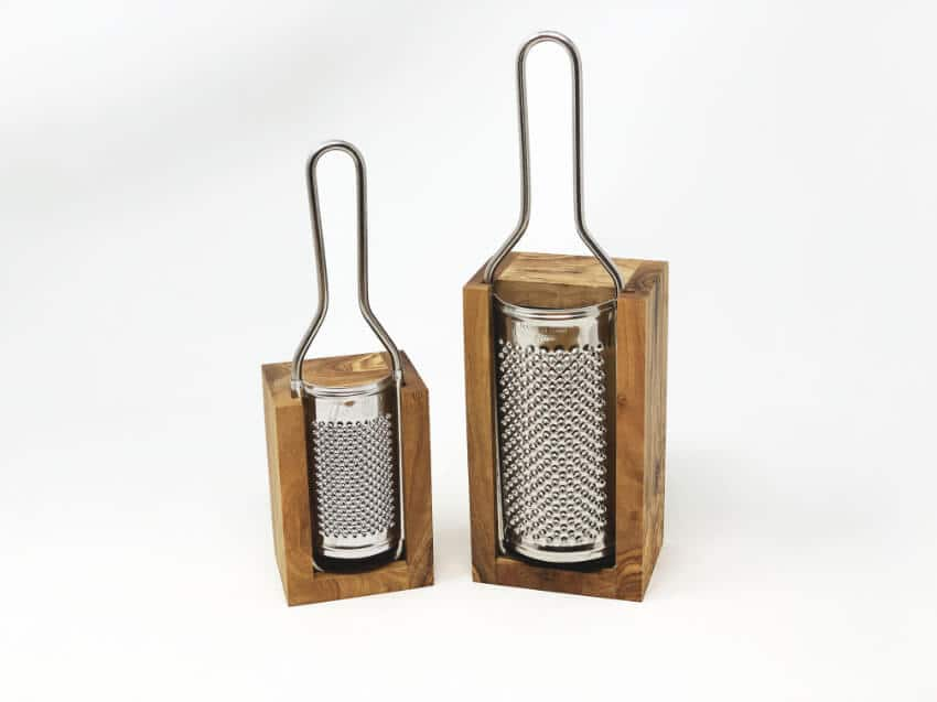 Olive Wood - Grater(S) With Box