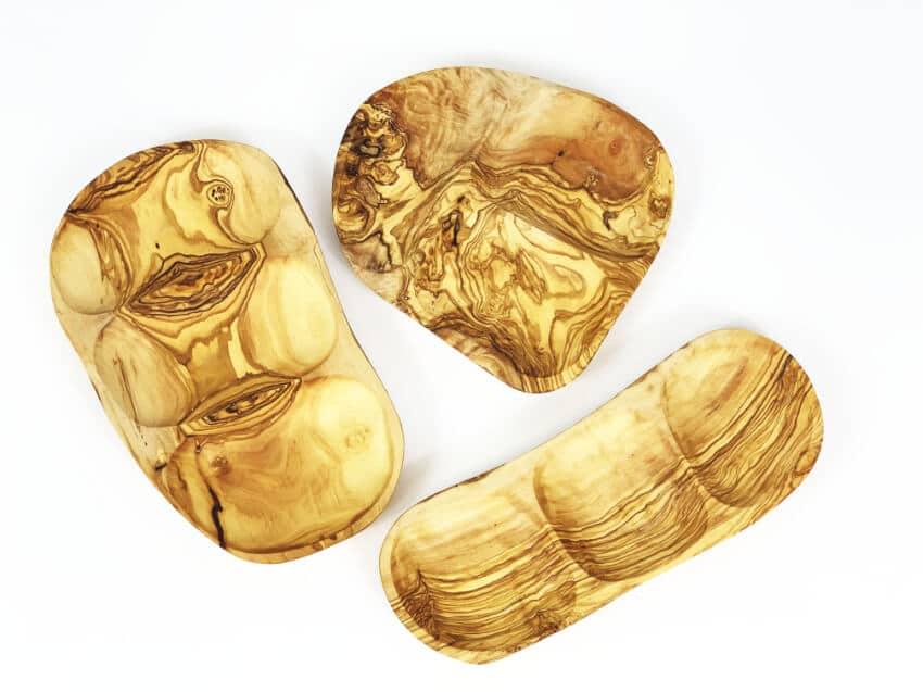 Verano-Ceramics-Olive-Wood-SD3SS-3-Section-Snack-Dish-2