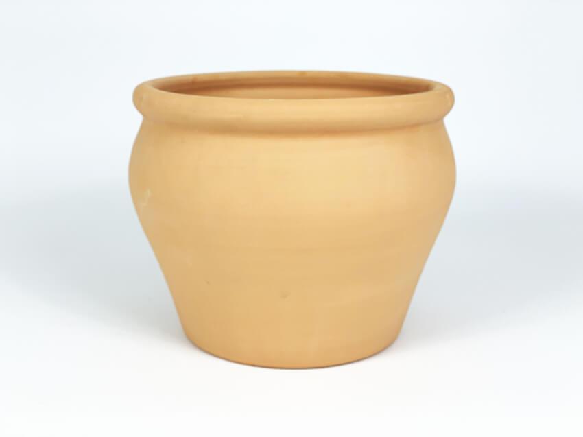 Terracotta Wide Garden Vases