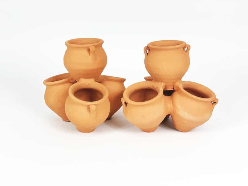 Terracotta Quad Pots