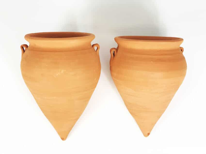 Terracotta Teardrop Hanging/Pot