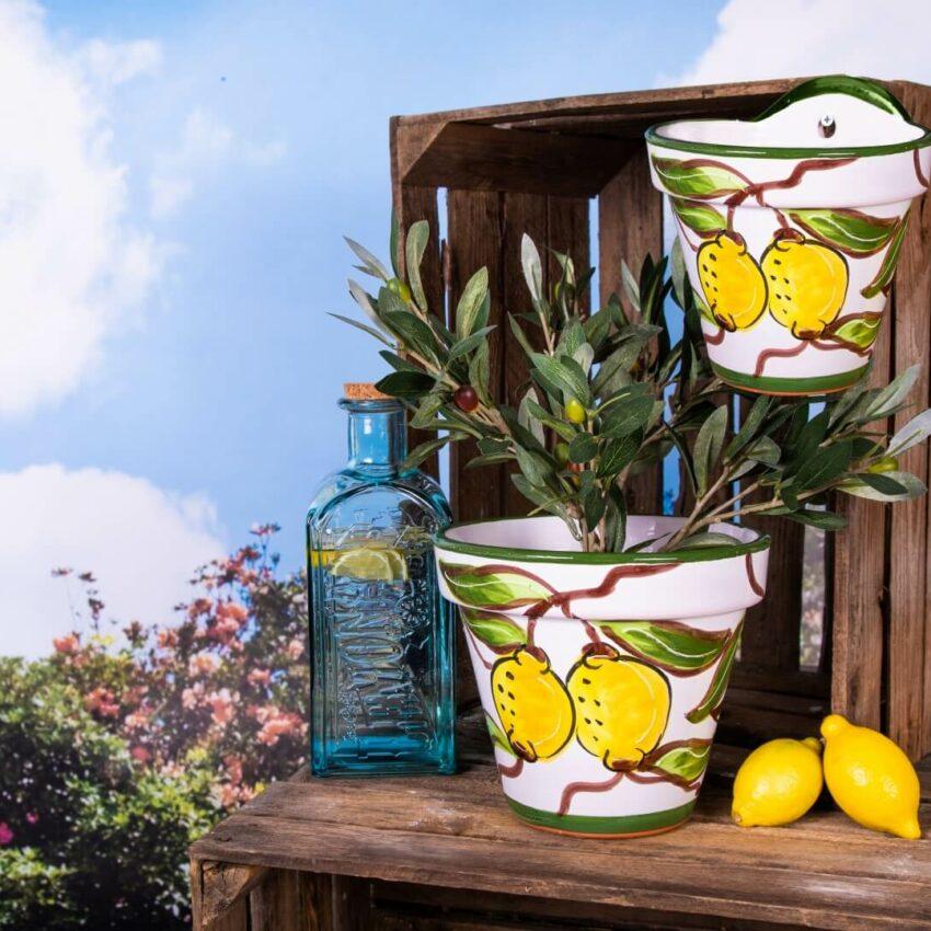 Traditional Spanish - Hand Painted Lemon Pots