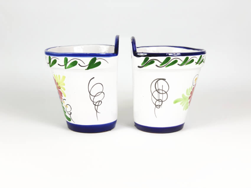 Verano-Ceramics-Traditional-Spanish-Set-of-2-Floral-TS-CHF17and21-hanging-pots (2)-8