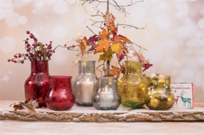 Verano Glassware Christmas Collection Frost Lifestyle 2