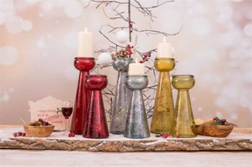 Verano Glassware Christmas Collection Frost Lifestyle 4