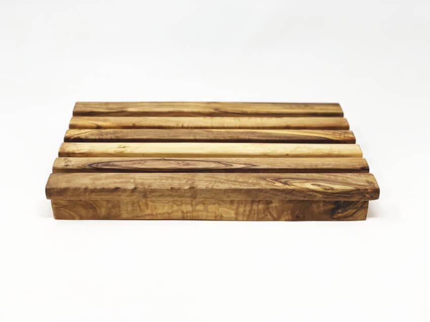 Olive Wood Bread Cutting Box