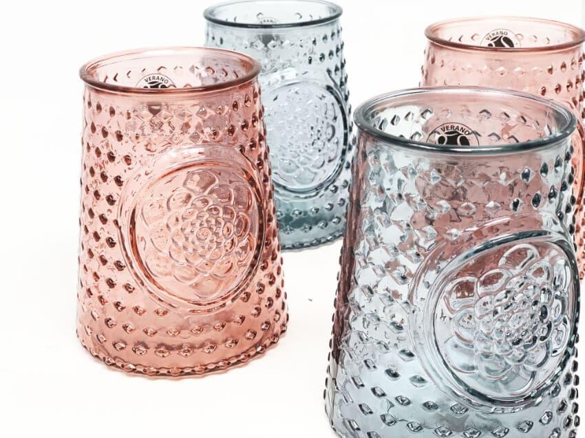 Verano-Recycled-Glass-Mandala-Small-Chunky-Vase-Group