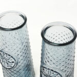Verano-Recycled-Glass-Mandala-Small-Conical-Grey-Set-of-2-detail