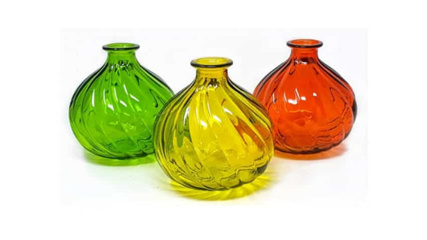 Verano Recycled Glass - Ola Round Vase