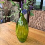 Verano-Recycled-Glass-Ola-Tall-Vase-Green-Lifestyle-2