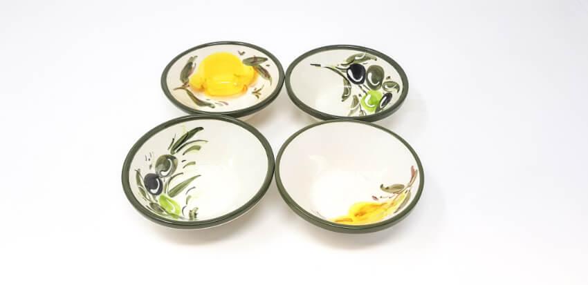 Buena Vida - Set Of 4 Hand Painted 10Cm Tapas Bowls