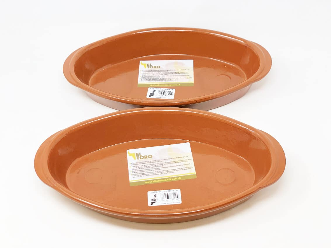 Set Of 2 El Toro - Oval Oven Dishes