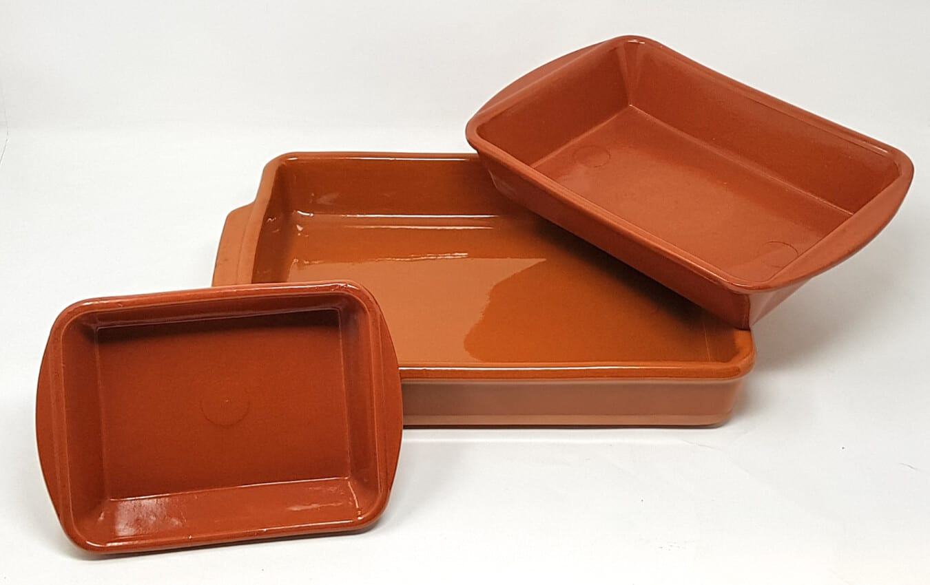 Set Of 3 El Toro - Rectangular Oven Dishes