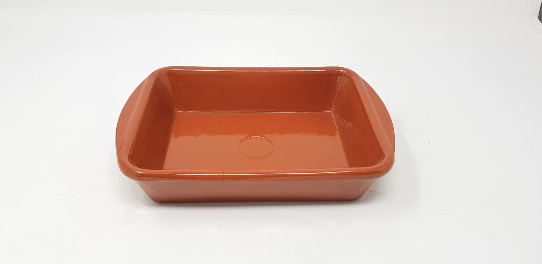 Verano-Spanish-Ceramics-El-Toro-Rectangular-Oven-Dishes-Set-of-3-4