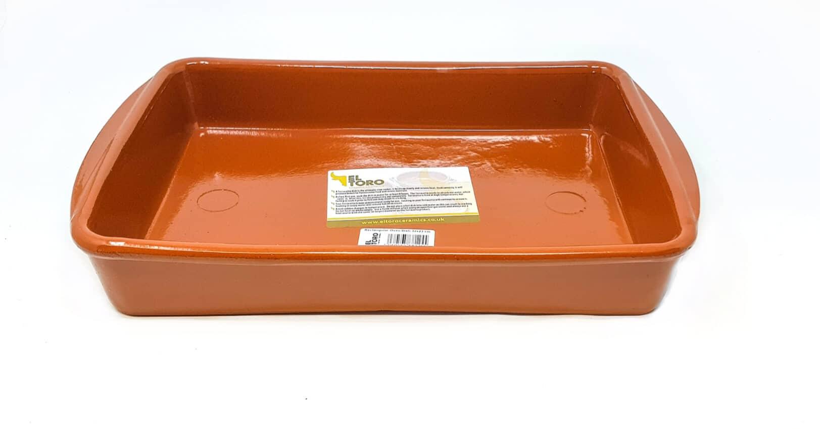 Verano-Spanish-Ceramics-El-Toro-Rectangular-Oven-Dishes-Set-of-3-8