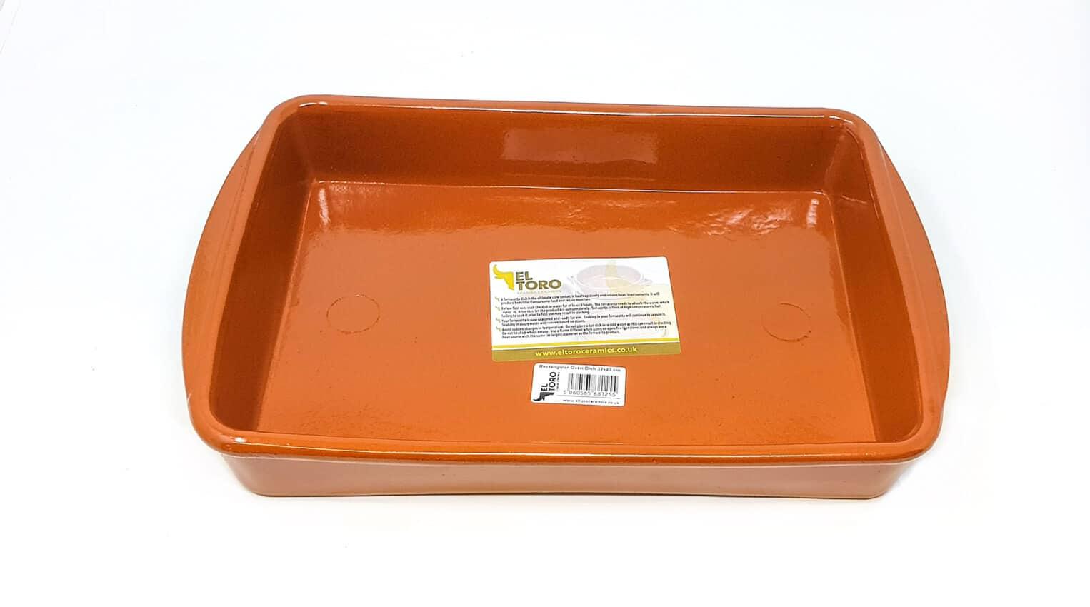 Verano-Spanish-Ceramics-El-Toro-Rectangular-Oven-Dishes-Set-of-3-9