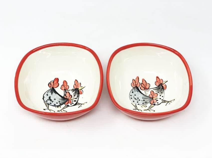 Verano-Spanish-Ceramics-Farmhouse-Set-of-2-Cereal-Bowls-2