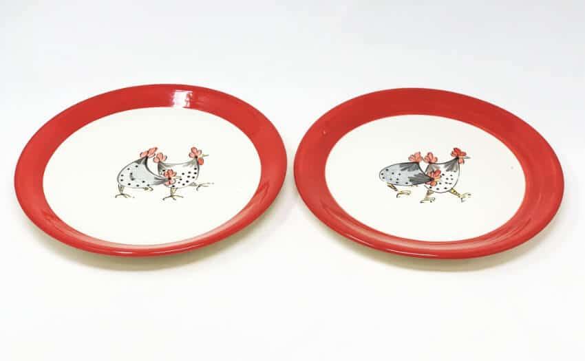 Verano-Spanish-Ceramics-Farmhouse-Set-of-2-Dinner-Plates-3