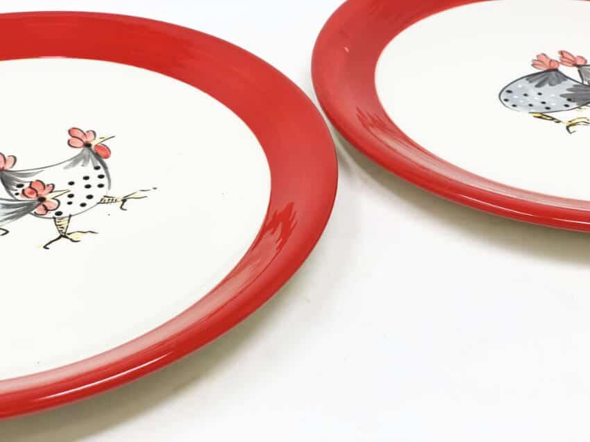 Verano-Spanish-Ceramics-Farmhouse-Set-of-2-Dinner-Plates-5