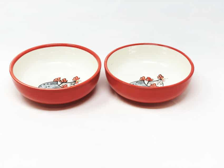 Farmhouse - Set Of 2 Shallow Bowls