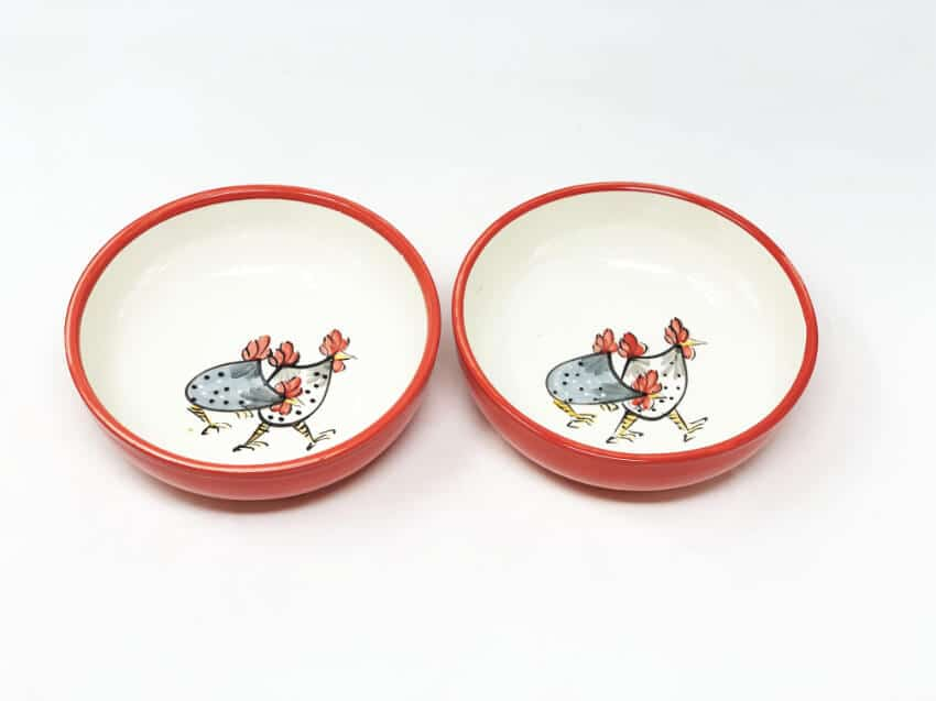 Verano-Spanish-Ceramics-Farmhouse-Set-of-2-Shallow-Bowls-2